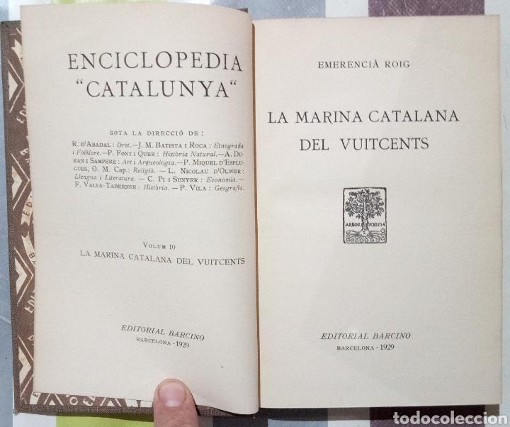 Enciclopedias antiguas: ENCICLOPEDIA CATALUNYA. LOTE 25 LIBROS. 1926/1961. EDITORIA BARCINO - Foto 3 - 120119170