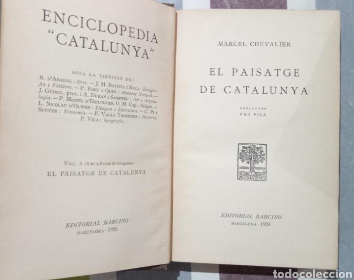 Enciclopedias antiguas: ENCICLOPEDIA CATALUNYA. LOTE 25 LIBROS. 1926/1961. EDITORIA BARCINO - Foto 5 - 120119170