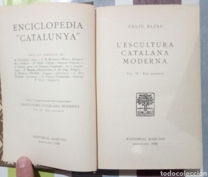 Enciclopedias antiguas: ENCICLOPEDIA CATALUNYA. LOTE 25 LIBROS. 1926/1961. EDITORIA BARCINO - Foto 6 - 120119170