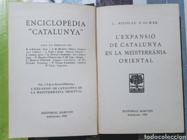 Enciclopedias antiguas: ENCICLOPEDIA CATALUNYA. LOTE 25 LIBROS. 1926/1961. EDITORIA BARCINO - Foto 7 - 120119170
