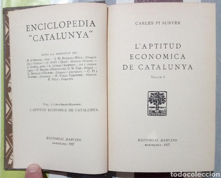 Enciclopedias antiguas: ENCICLOPEDIA CATALUNYA. LOTE 25 LIBROS. 1926/1961. EDITORIA BARCINO - Foto 8 - 120119170
