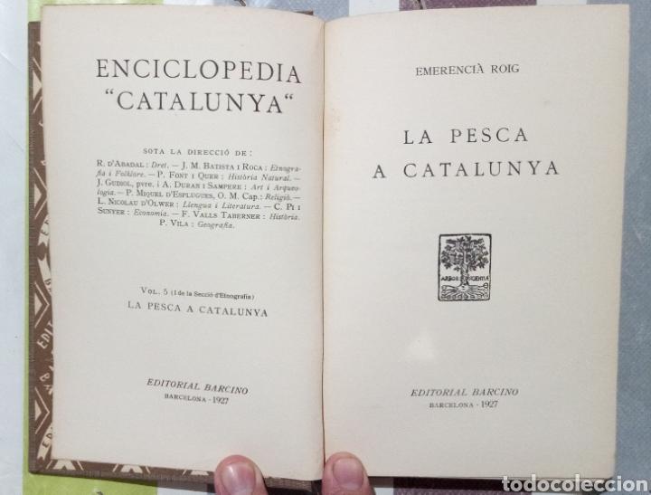 Enciclopedias antiguas: ENCICLOPEDIA CATALUNYA. LOTE 25 LIBROS. 1926/1961. EDITORIA BARCINO - Foto 9 - 120119170