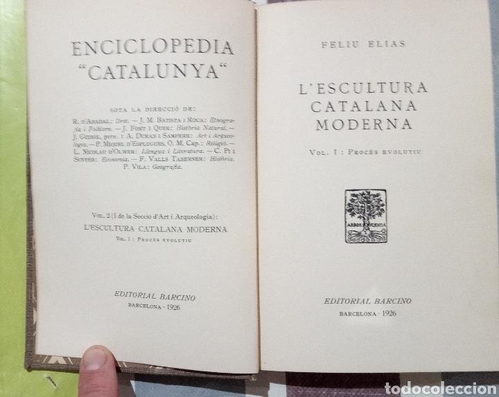 Enciclopedias antiguas: ENCICLOPEDIA CATALUNYA. LOTE 25 LIBROS. 1926/1961. EDITORIA BARCINO - Foto 11 - 120119170