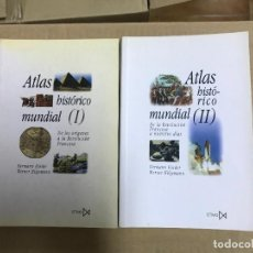 Enciclopedias antiguas: ATLAS HISTORICO MUNDIAL 2 TOMOS. HERMANN KINDER. EDITORIAL ISTMO. Lote 120835047