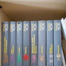 Enciclopedias antiguas: GUÍA ESCOLAR VOX. 10 TOMOS. CREDSA. 1990. BUEN ESTADO, MUY POCO USO. Lote 121459719