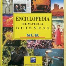 Enciclopedias antiguas: ENCICLOPEDIA TEMATICA GUINNESS. Lote 126096531