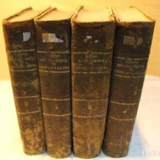 Enciclopedias antiguas: ENCICLOPEDIA POPULAR DE CIENCIAS Y ARTES GILLMAN, 1881. Lote 126127067