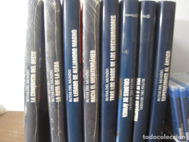 Enciclopedias antiguas: Rutas del mundo (Completo _8 tomos+20dvd) - Foto 2 - 127725887