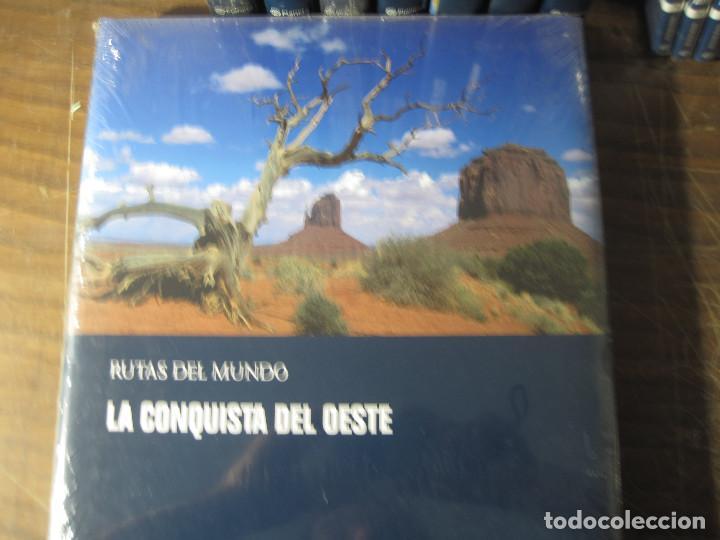 Enciclopedias antiguas: Rutas del mundo (Completo _8 tomos+20dvd) - Foto 4 - 127725887