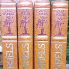 Enciclopedias antiguas: ARRELS VILES I POBLES **** CATALUNYA. Lote 130185403