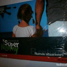Enciclopedias antiguas: EL MANUAL DE SUPER NANNY LIBRO Y DVD. Lote 130918452