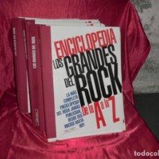 Enciclopedias antiguas: ENCICLOPEDIA LOS GRANDES DEL ROCK COMPLETA( 5 TOMOS). Lote 131385646