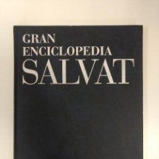 Enciclopedias antiguas: GRAN ENCICLOPEDIA SALVAT COLECCIÓN COMPLETA. Lote 131410082