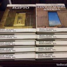 Enciclopedias antiguas: GRANDES CIVILIZACIONES. MÁS-IVARS ED.. Lote 133669282