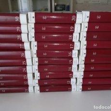 Enciclopedias antiguas: GRAN ENCICLOPEDIA UNIVERSAL. 30 TOMOS. Lote 134929554