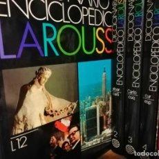 Enciclopedias antiguas: LAROUSSE ENCICLOPEDIA DE 12 TOMOS NUEVA SIN APENAS USO - PERFECTO ESTADO AÑOS 90 - COMPLETA. Lote 135003358