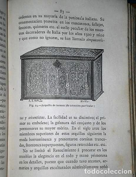 Enciclopedias antiguas: ENCICLOPEDIA PARA LA JUVENTUD.LA HABITACIÓN.-CARTAS A UNA SEÑORITA.(1ª, 2ª Y 3ª SERIES, 1879) - Foto 8 - 136239146
