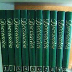 Enciclopedias antiguas: ENCICLOPEDIA SALVAT DE LA DECORACIÓN. COMPLETA. 10 TOMOS. AÑO 1982. SIN USO.. Lote 112979023