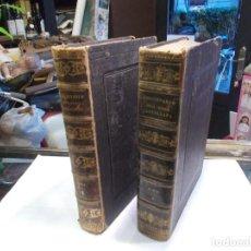 Enciclopedias antiguas: DICCIONARIO ENCICLOPÉDICO LENGUA ESPAÑOLA 2 TOMOS BIBLIOTECA GASPAR Y ROIG ORIGINAL AÑO 1864 (G). Lote 137651746