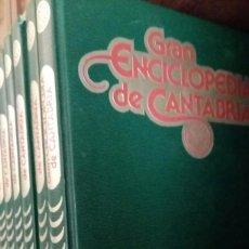 Enciclopedias antiguas: GRAN ENCICLOPEDIA DE CANTABRIA 8 TOMOS. Lote 137659518