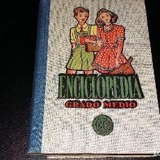 Enciclopedias antiguas: ENCIGLOPEDIA GRADO MEDIO. Lote 140437778
