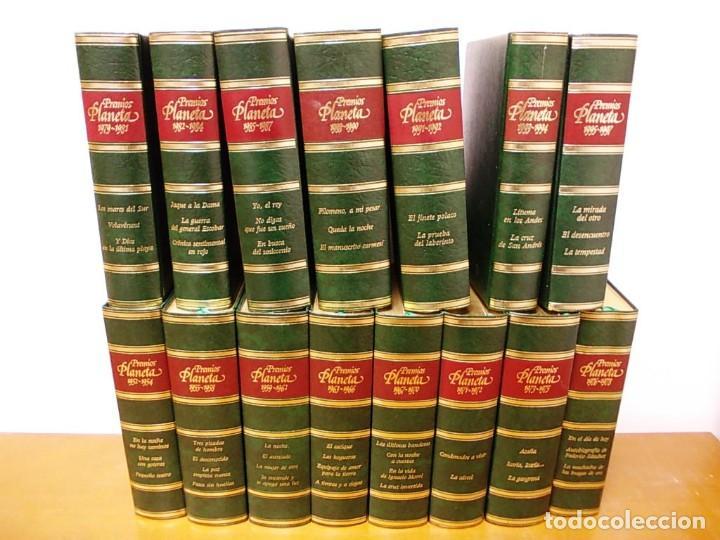 COLECCION 15 TOMOS PREMIOS PLANETA DE 1952 AL 1997 CORRELATIVOS. (Libros Antiguos, Raros y Curiosos - Enciclopedias)