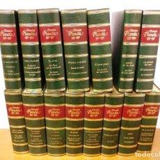 Enciclopedias antiguas: COLECCION 15 TOMOS PREMIOS PLANETA DE 1952 AL 1997 CORRELATIVOS.. Lote 141304066