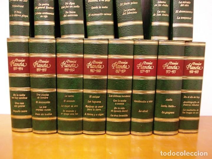 Enciclopedias antiguas: Coleccion 15 tomos premios planeta de 1952 al 1997 correlativos. - Foto 2 - 141304066
