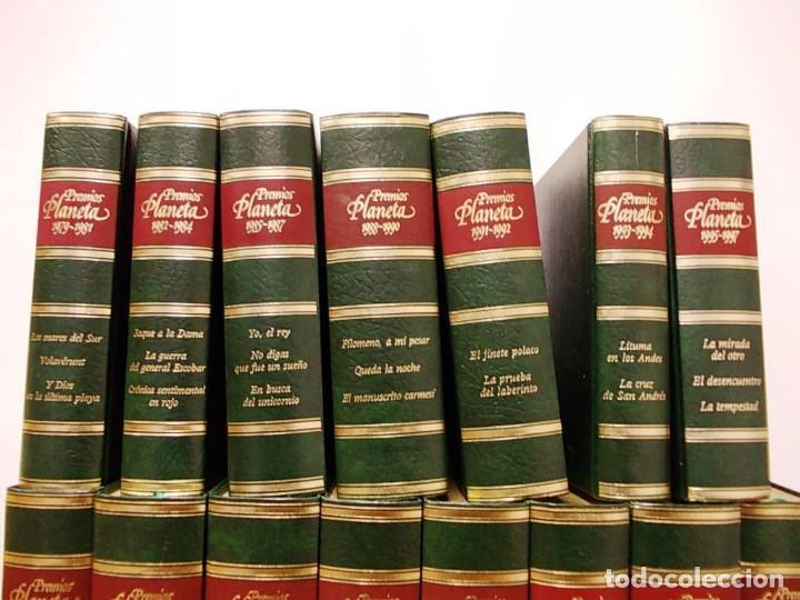 Enciclopedias antiguas: Coleccion 15 tomos premios planeta de 1952 al 1997 correlativos. - Foto 3 - 141304066