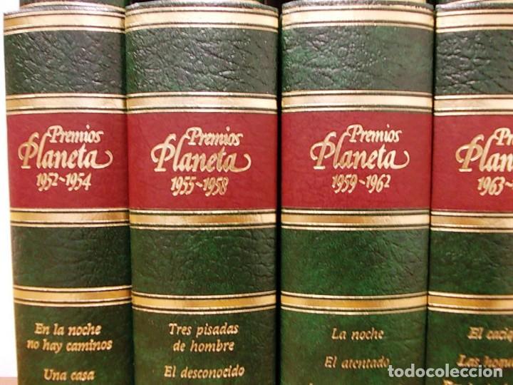 Enciclopedias antiguas: Coleccion 15 tomos premios planeta de 1952 al 1997 correlativos. - Foto 4 - 141304066
