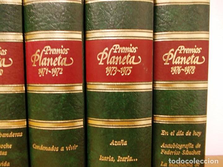 Enciclopedias antiguas: Coleccion 15 tomos premios planeta de 1952 al 1997 correlativos. - Foto 6 - 141304066