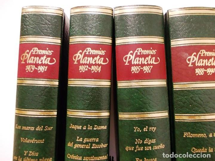 Enciclopedias antiguas: Coleccion 15 tomos premios planeta de 1952 al 1997 correlativos. - Foto 7 - 141304066