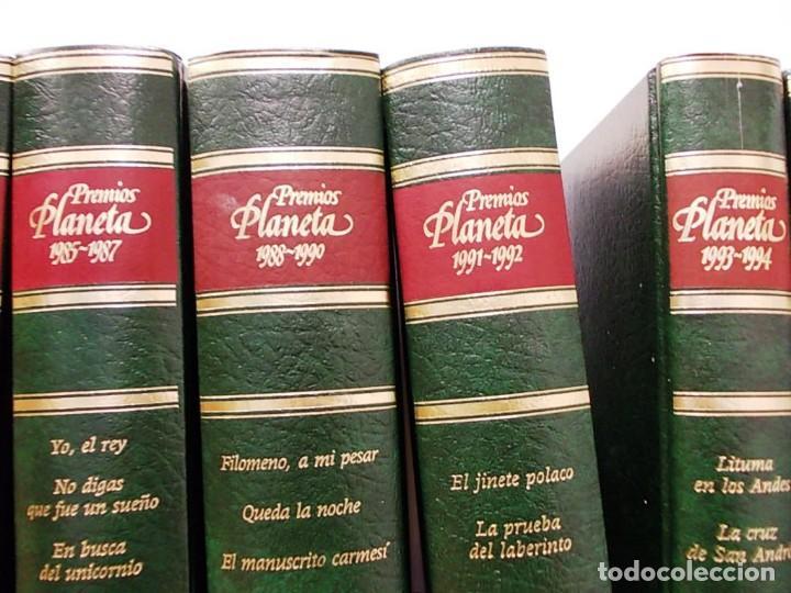 Enciclopedias antiguas: Coleccion 15 tomos premios planeta de 1952 al 1997 correlativos. - Foto 8 - 141304066