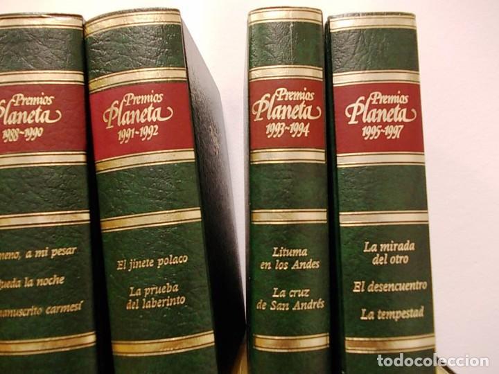 Enciclopedias antiguas: Coleccion 15 tomos premios planeta de 1952 al 1997 correlativos. - Foto 9 - 141304066