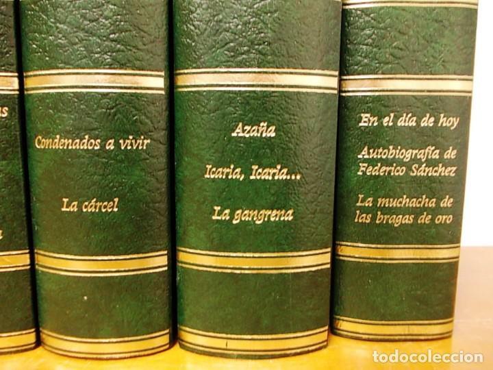 Enciclopedias antiguas: Coleccion 15 tomos premios planeta de 1952 al 1997 correlativos. - Foto 12 - 141304066
