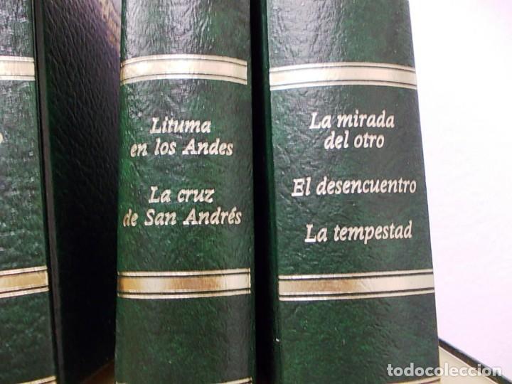 Enciclopedias antiguas: Coleccion 15 tomos premios planeta de 1952 al 1997 correlativos. - Foto 15 - 141304066