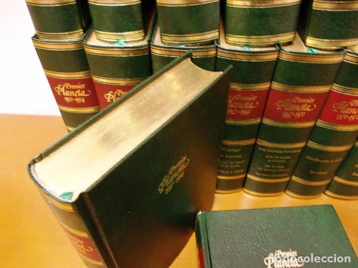Enciclopedias antiguas: Coleccion 15 tomos premios planeta de 1952 al 1997 correlativos. - Foto 16 - 141304066