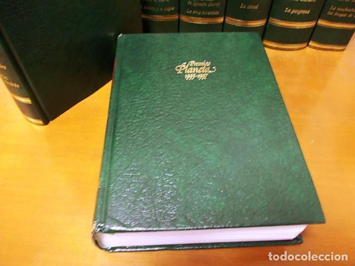 Enciclopedias antiguas: Coleccion 15 tomos premios planeta de 1952 al 1997 correlativos. - Foto 17 - 141304066
