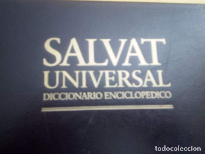 9007-SALVAT-UNIVERSAL-DICCIONARIO-ENCICLOPEDIA COMPLETA (Libros Antiguos, Raros y Curiosos - Enciclopedias)