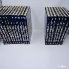 Enciclopedias antiguas: LOTE DE 2 ENCICLOPEDIAS COMPLETAS: RAZAS HUMANAS (8 TOMOS) E HISTORIA NATURAL (12 TOMOS). Lote 146704298