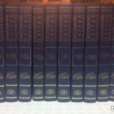 Enciclopedias antiguas: ENCICLOPEDIA GALEGA UNIVERSAL. IR INDO EDICIÓNS.16 TOMOS. PEROZO JOSÉ ANTONIO, LEDO CABIDO BIEITO. Lote 147834370