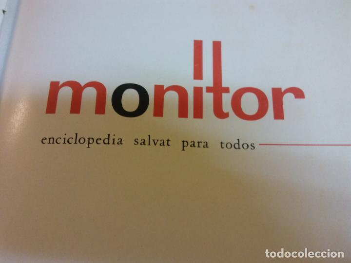 STQ. ENCICLOPEDIA SALVAT PARA TODOS MONITOR, NUMERO 5, AÑO 1966.. (Libros Antiguos, Raros y Curiosos - Enciclopedias)
