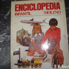 Enciclopedias antiguas: ENCICLOPEDIA INFANTIL MOLINO. 3 TOMOS CON ESTUCHE. PESA 3 KILOS. Lote 148818762