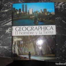 Enciclopedias antiguas: GEOGRAFICA . EL HOMBRE Y LA TIERRA. . DE 1973 PLAZA Y JANES. Lote 148820062