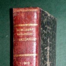 Enciclopedias antiguas: ALMANAQUE BAILLY-BAILLIERE 1902-1903. Lote 150538758