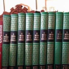 Enciclopedias antiguas: ENCICLOPEDIA EL MUNDO DE LOS ANIMALES, LAROUSSE, 1970. Lote 150679730