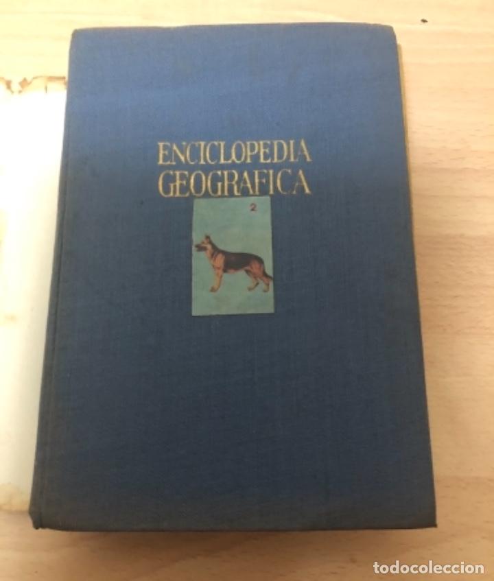 Enciclopedias antiguas: ANTIGÜO LIBRO ENCICLOPEDIA GEOGRÁFICA , ANTONIO PALUZIE AÑO 1.963 - Foto 2 - 151711594