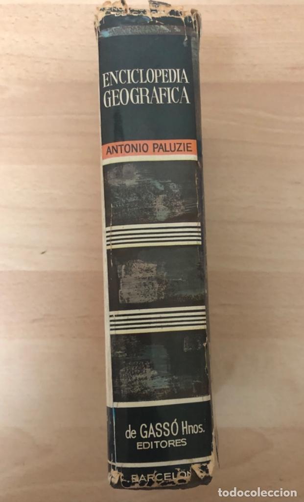 Enciclopedias antiguas: ANTIGÜO LIBRO ENCICLOPEDIA GEOGRÁFICA , ANTONIO PALUZIE AÑO 1.963 - Foto 4 - 151711594