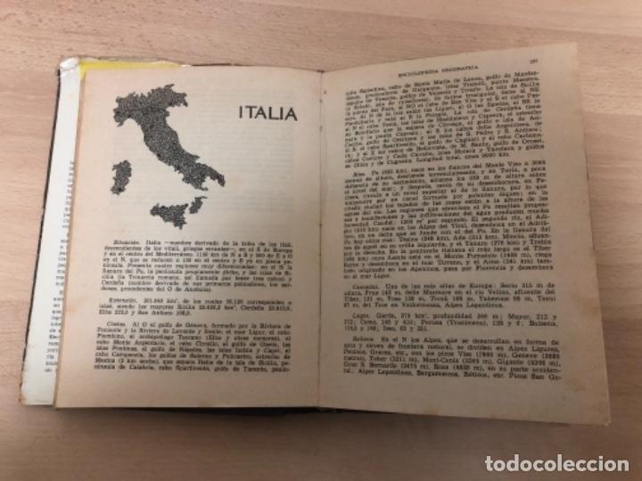 Enciclopedias antiguas: ANTIGÜO LIBRO ENCICLOPEDIA GEOGRÁFICA , ANTONIO PALUZIE AÑO 1.963 - Foto 6 - 151711594