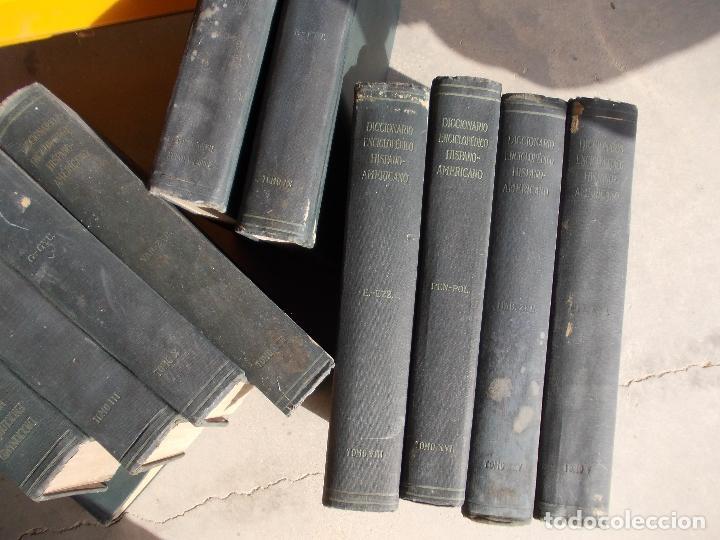 DICCIONARIO HISPANO AMERICANO Nº 1-4-11-5-16-25-8-27-9-20-23-10-3-13-21-15 LOTE (Libros Antiguos, Raros y Curiosos - Enciclopedias)